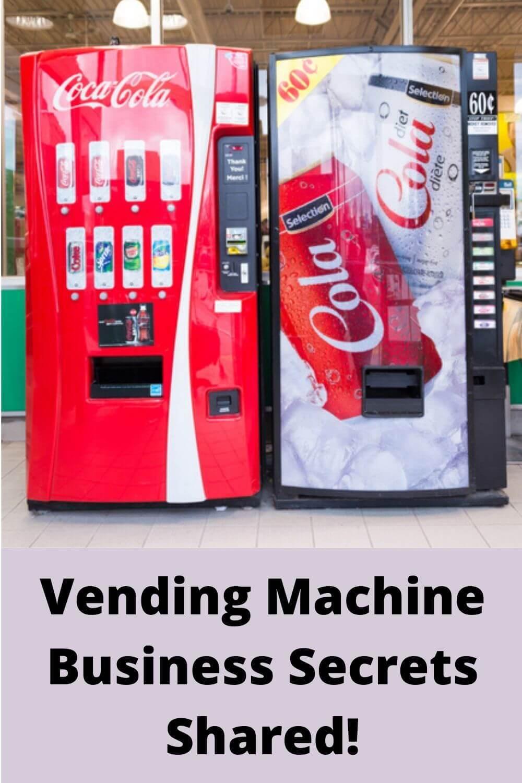 Vending machine business secrets shared!