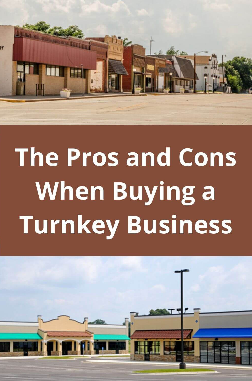 The Pros and Cons When Buying a Trunkey Business