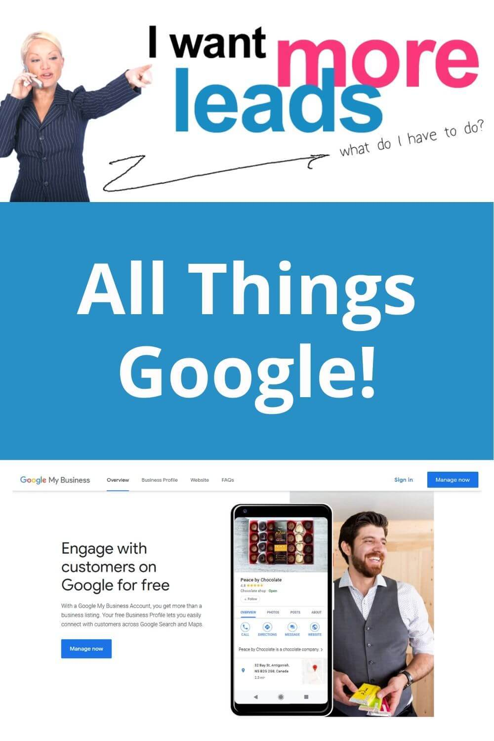 All Things Google! Best FREE Lead Genereator