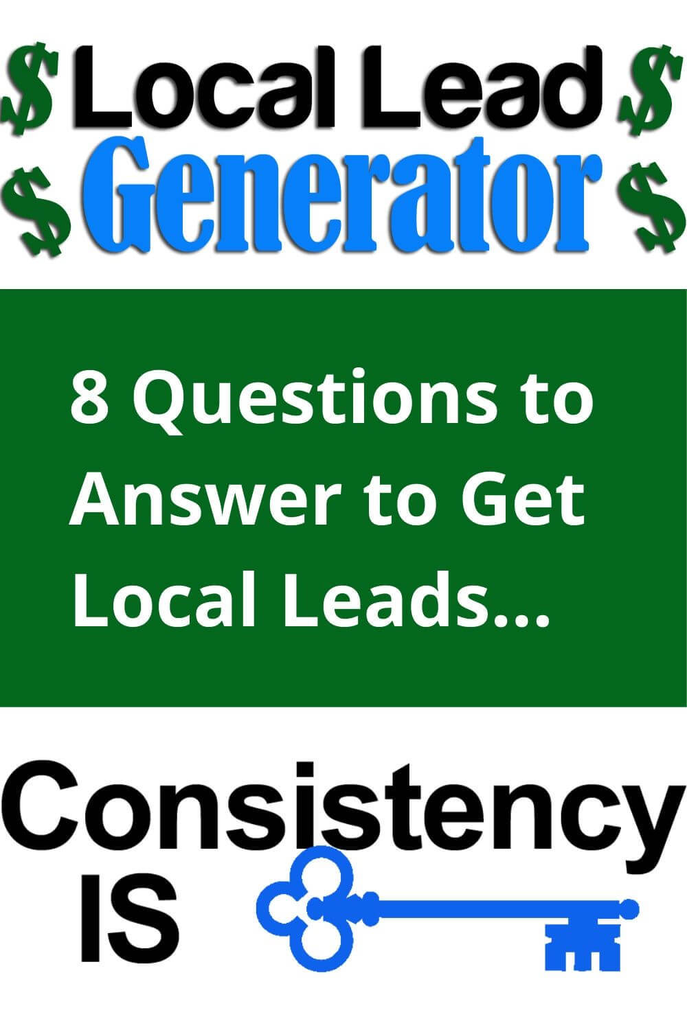 8 querstions to answer to get local leads...