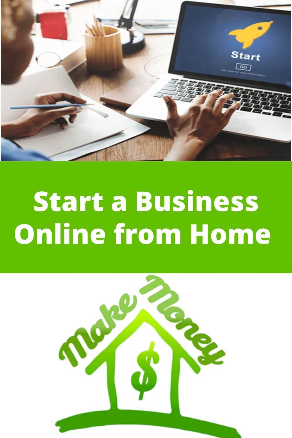 Start a business online from home