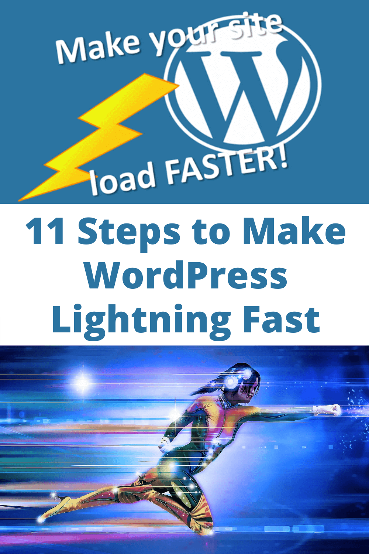 11 steps to make WordPress lightning fast