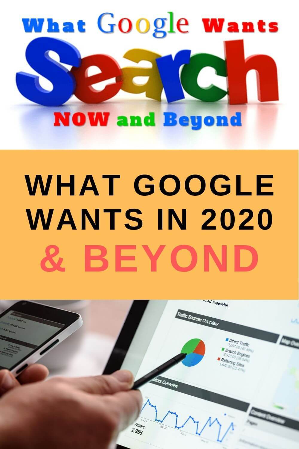 What Google Wants in 2020 and Beyond