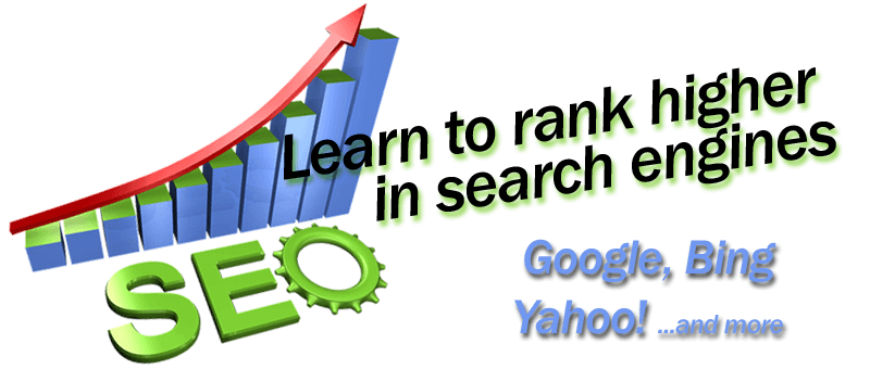 seo graph with arrow pointing upwards