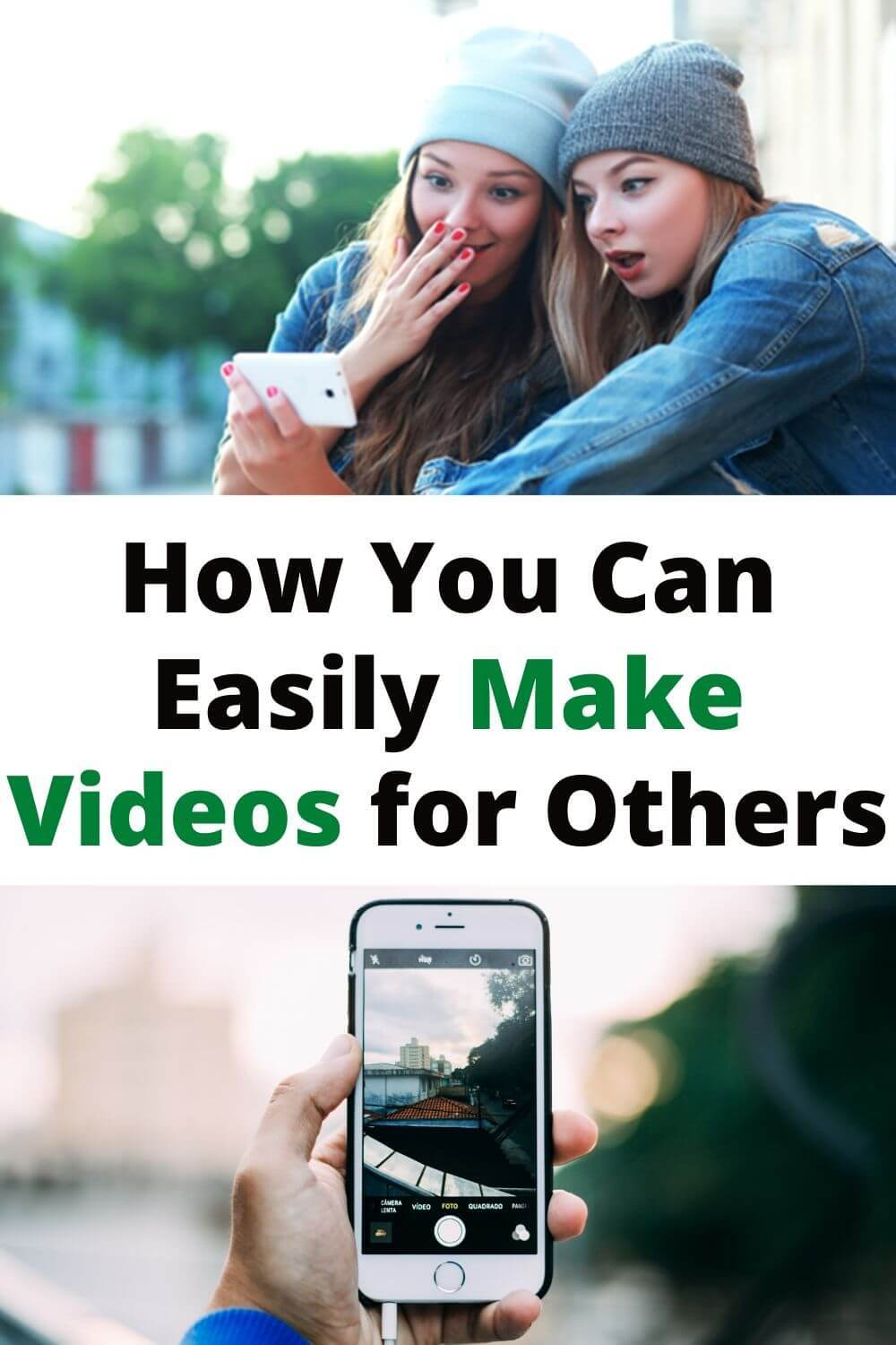 how you can easily make videos for others
