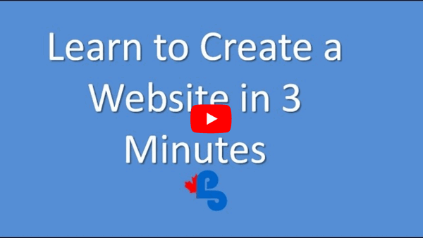 Learn to Create a Website in 3 Minutes