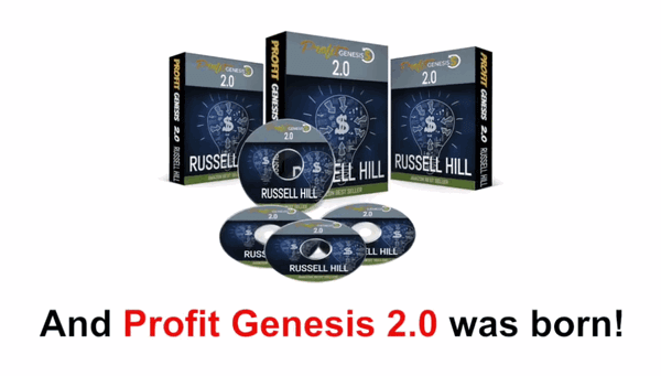 screen print of the Profit Genesis 2.0 packaging representation