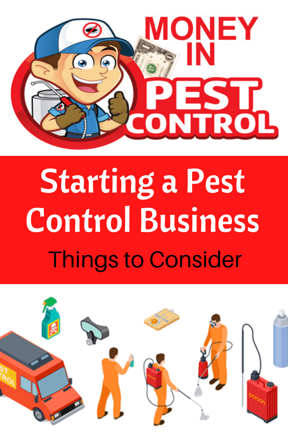 Starting a pest control business - things to consider