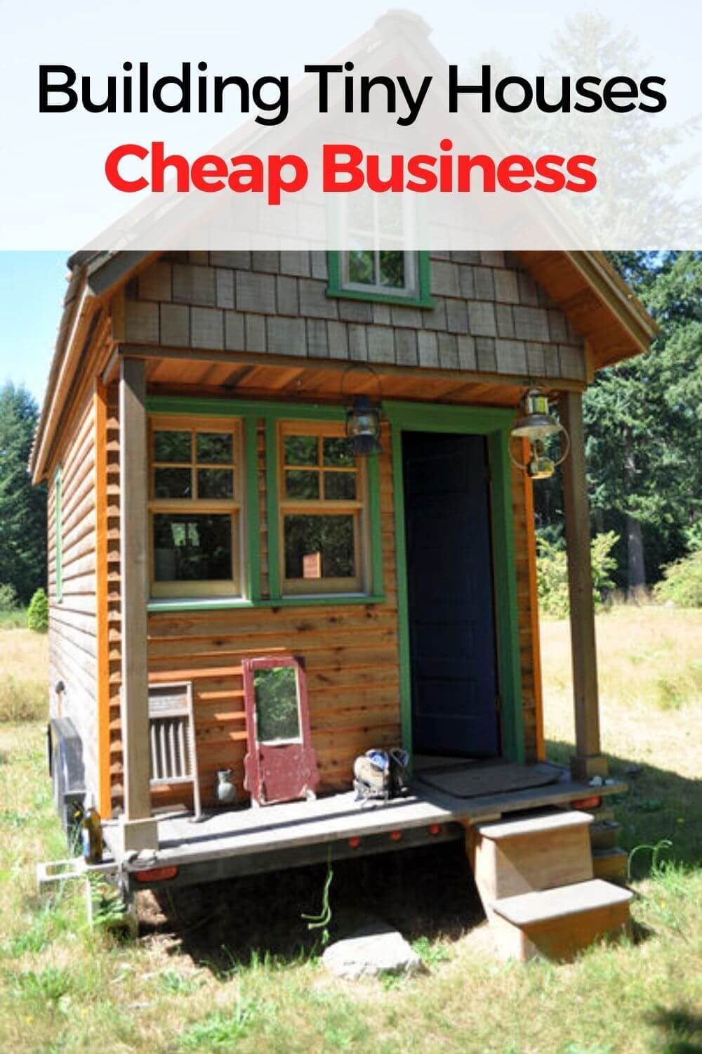 Building Tiny Houses cheap business