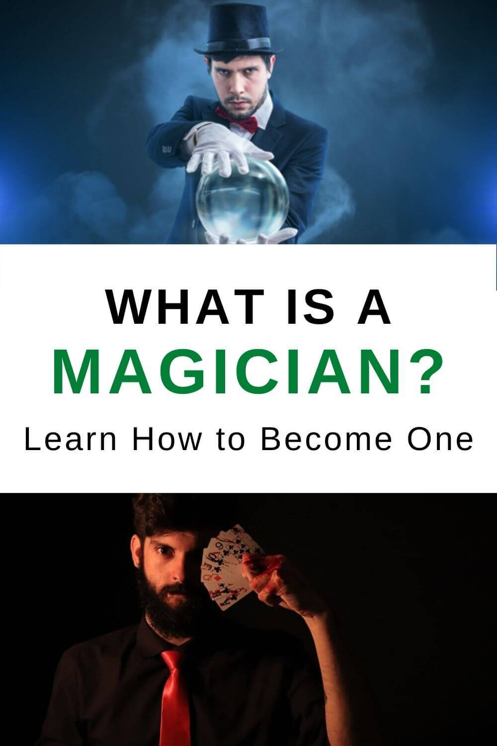 What is a magician? Learn to become one