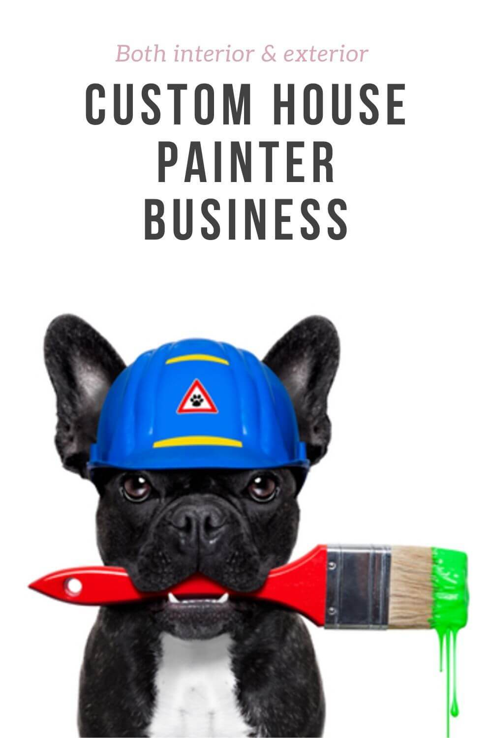 custome house painter business