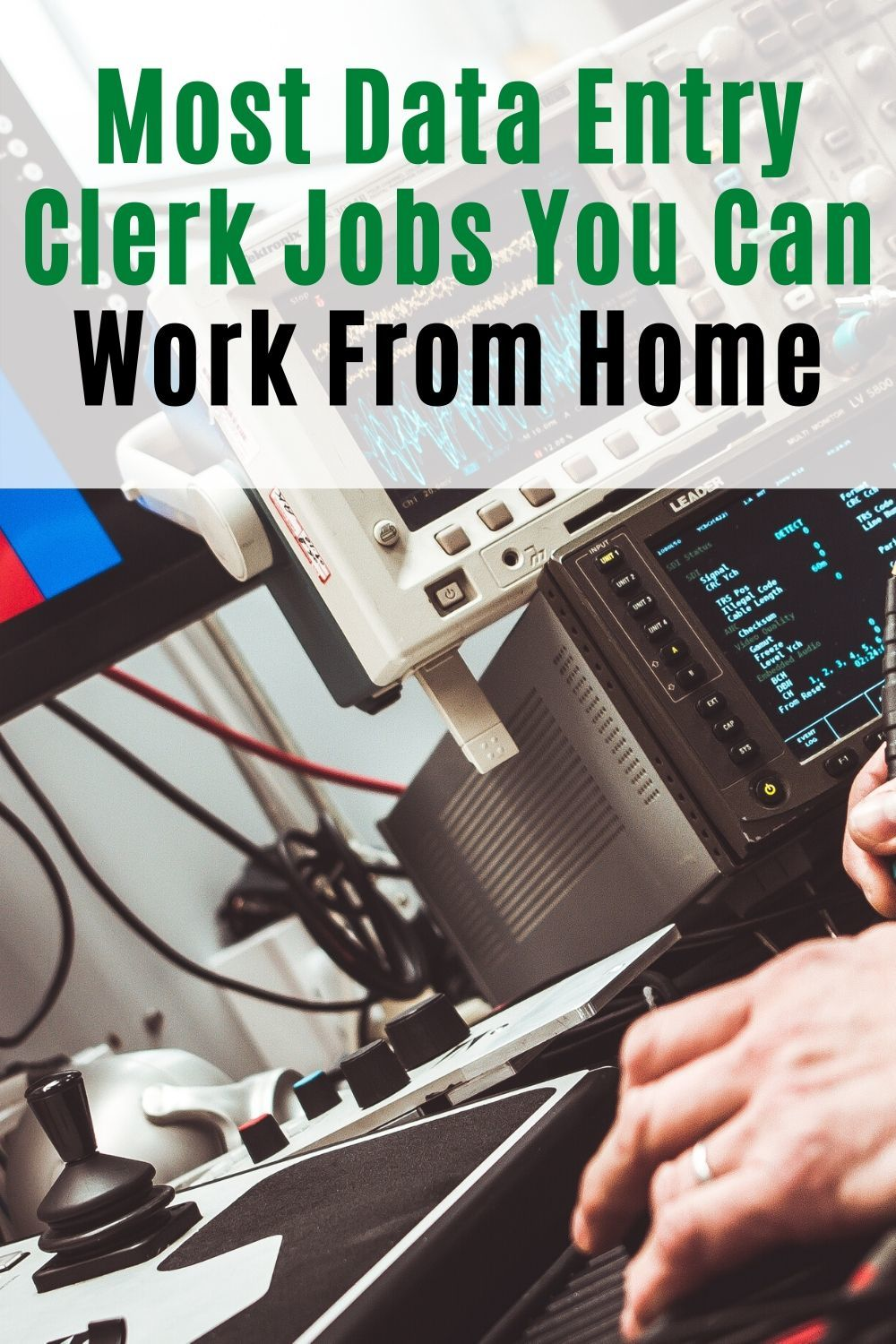 Most Data Entry Clerk Jobs You Can Work from Home