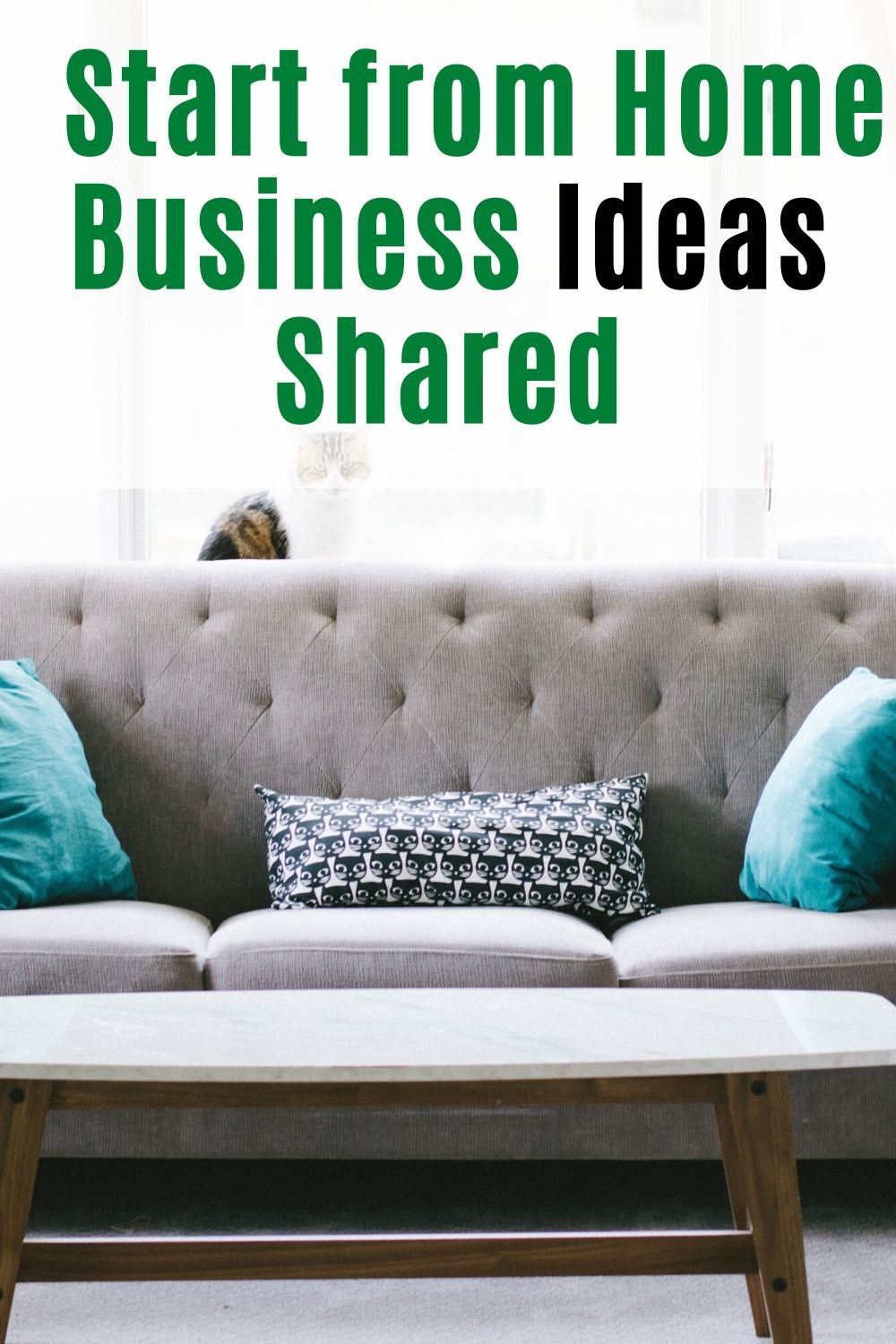 Start from Home Business Ideas Shared