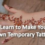Learn to Make Your Own Temporary Tattoos