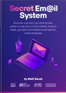 cover of eBook titled Secret Email System