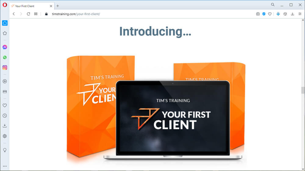 screen print from vendor's website
